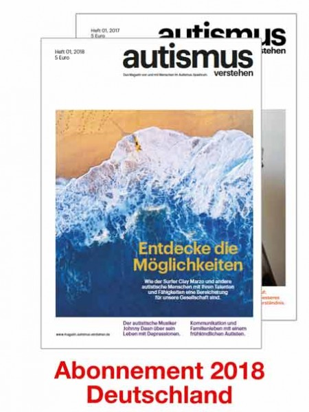 Magazin - Abo 2018 - Versand nach Deutschland