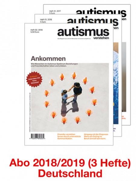 Magazin - Abo 2018/19 - Versand nach Deutschland