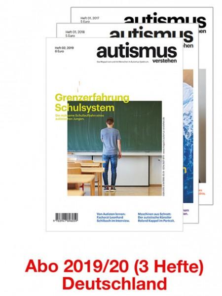 Magazin - Abo 2019/20 - Versand nach Deutschland